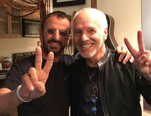Ringo Starr grava com Peter Frampton em disco novo