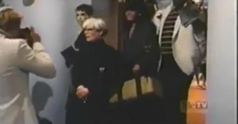 Andy Warhol num episódio de