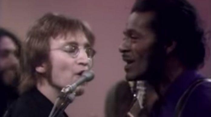 John Lennon e Chuck Berry: o primeiro encontro em 1972