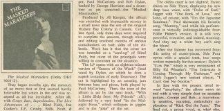 """Masked Marauders: """"Bob Dylan"""", """"John Lennon"""" e """"Mick Jagger"""" em supergrupo"""