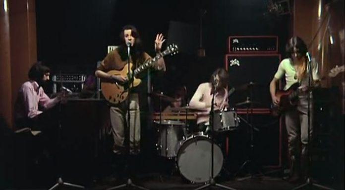 """Vídeo raro do Supertramp em 1970 tocando """"All along the watchtower"""""""