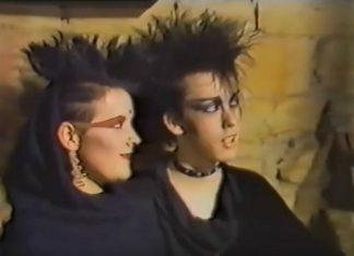 Imagens de um clube gótico na Inglaterra em 1984