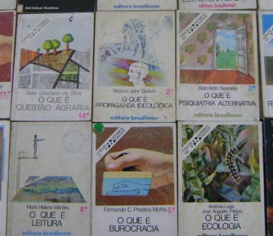Jogaram a coleção Primeiros Passos da Brasiliense na web em PDF