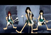 Ramones em desenho animado