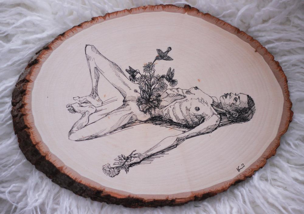 A arte sanguinolenta de Kayla Knadle
