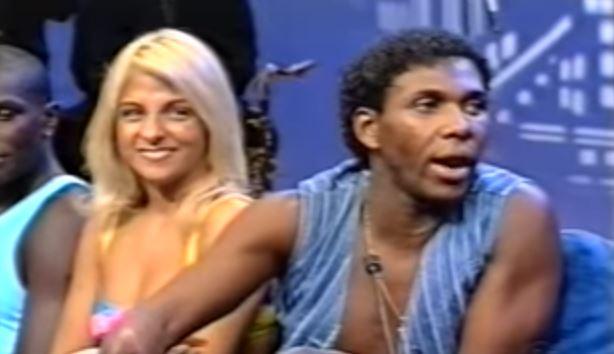 É O Tchan no Jô Soares em 1997