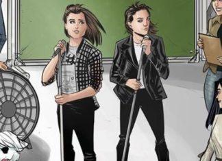 Tegan and Sara na revista dos Archies
