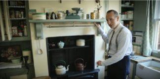 Ben Sansum, um inglês de 35 anos que vive como se estivesse em 1946