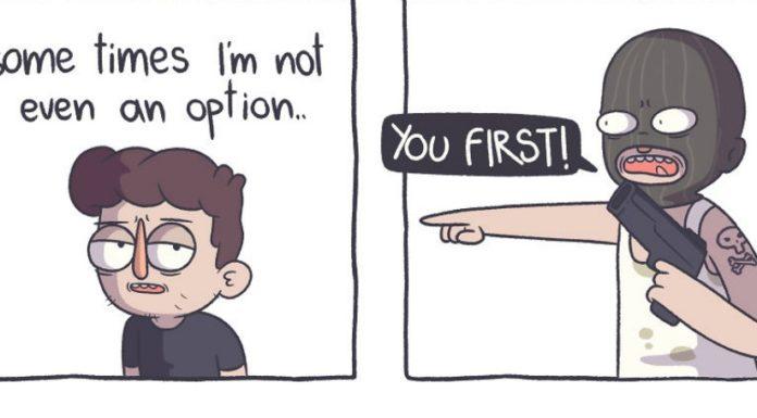 Depressão e ansiedade em quadrinhos