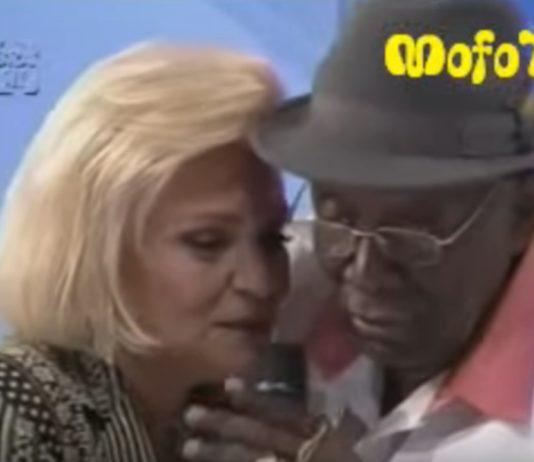 Jamelão recusa selinho de Hebe e ainda sai contando vantagem