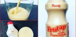 Leite fermentado litrão da Frutap - é, tem isso