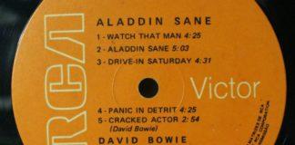 Alladin Sane: clássico de David Bowie sai em vinil prateado