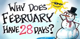 Afinal, por que fevereiro tem 28 dias?