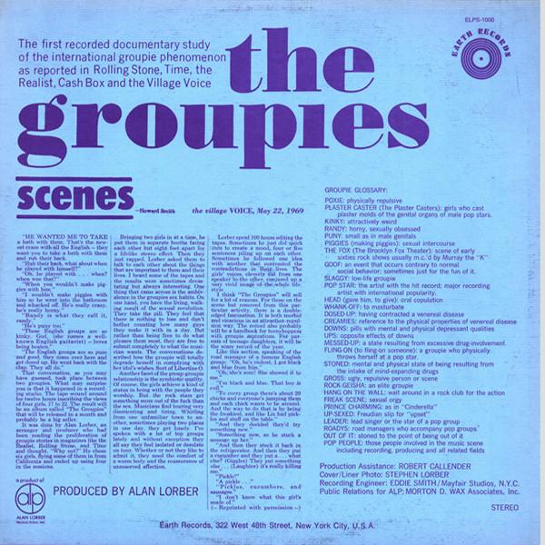 """Groupies """"fazendo porquinhos"""" num LP falado de 1969"""