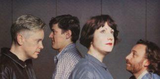New Order pouco antes do Brotherhood, ao vivo em 1986