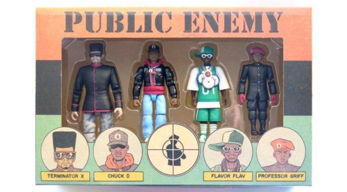 Fizeram action figures do Public Enemy