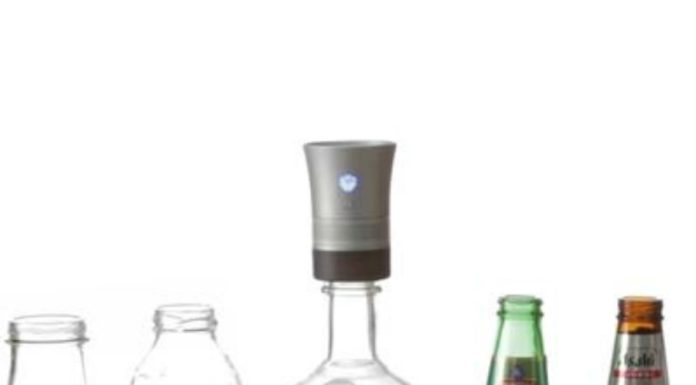 Cork Speaker: o alto-falante que você põe numa garrafa (!)