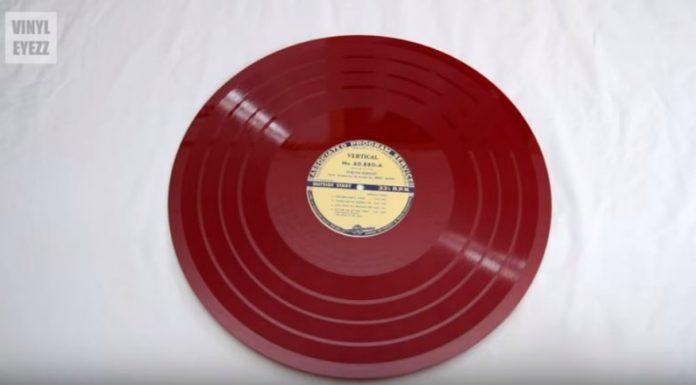 Discos de transcrição: um LPzão de 16 polegadas