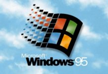 Música para meditação: o som da inicialização do Windows 95