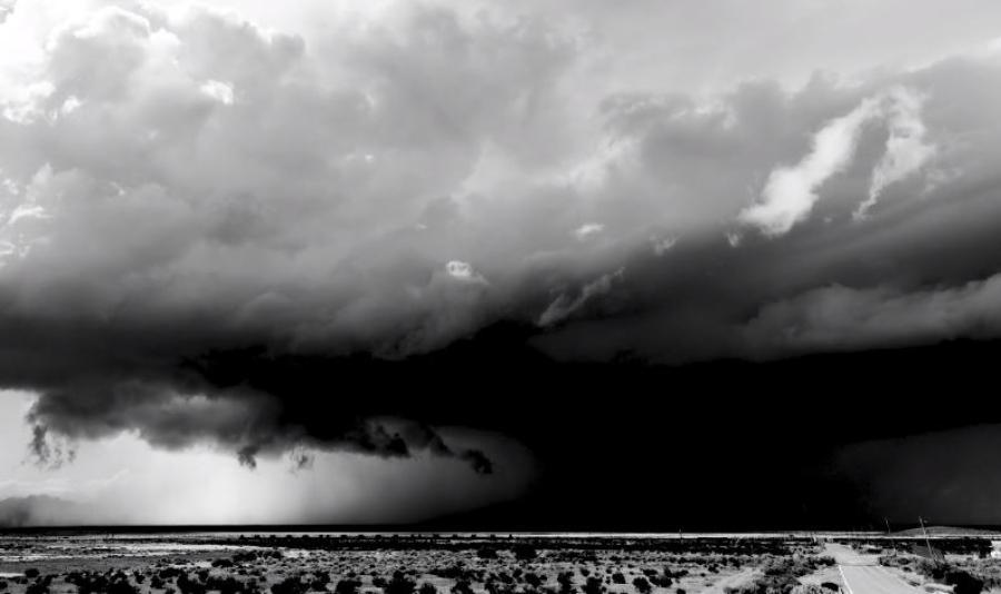 Caçando tempestades nas planícies, em time-lapse