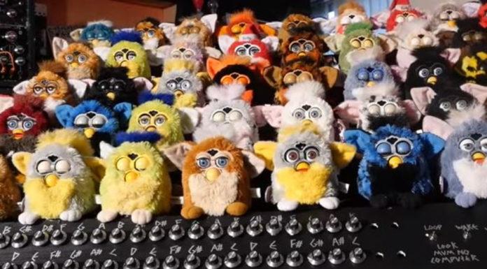 O orgão maravilhoso dos Furbies