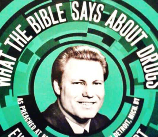 Jimmy Swaggart e seu disco sobre o que a Bíblia diz a respeito das drogas