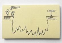 A vida adulta (mais ou menos, né?) nos risquinhos de Chaz Hutton