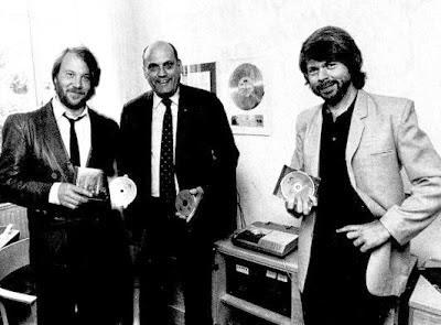 Aquela vez em que escolheram o ABBA pra inaugurar o formato CD