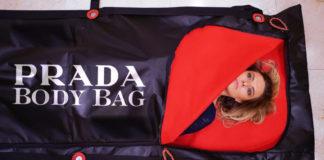 Prada Body Bag: saco para cadáveres de grife