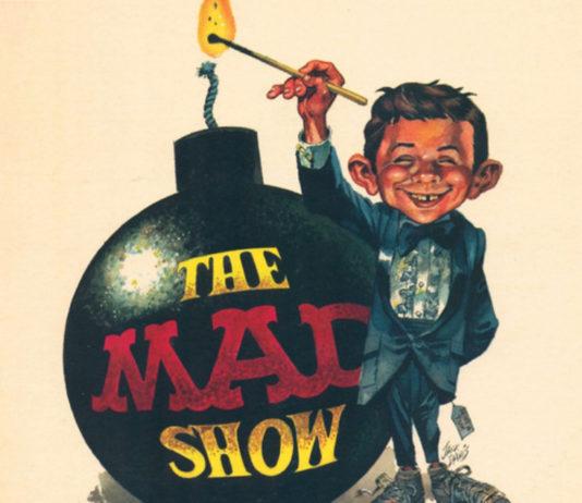 E teve um musical da revista Mad