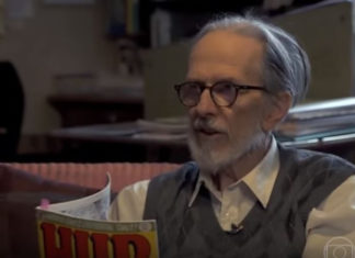 Jogaram no YouTube a entrevista de Robert Crumb no Conversa do Bial