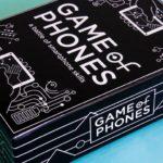 Inventaram um jogo de cartas sobre celulares, o Game of Phones