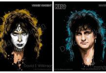 Um cara criou capas fictícias de discos solo do Kiss para todo mundo que já passou pela banda