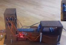 Inventaram um ukulele robô, o UkuRobot