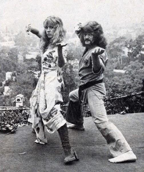 Stevie Nicks vai te enfiar a porrada