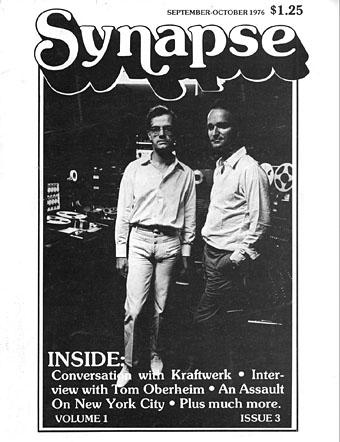 Synapse: a sua revista de música eletrônica... nos anos 1970