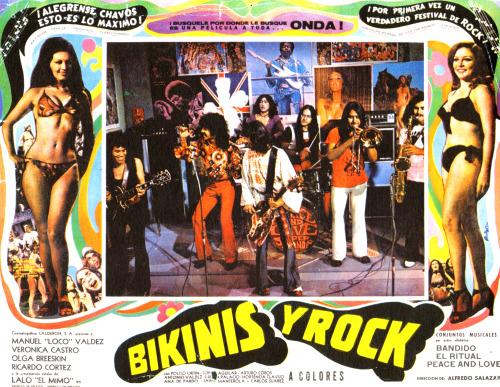 """""""Bikinis y rock"""": rock mexicano no cinema, em 1972"""