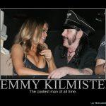 Lemmy Kilmister e três ex-namoradas, na TV