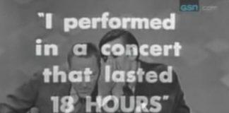 John Cale (Velvet Underground) num game show de TV em 1963