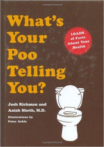 Um livro que explica tudo sobre as mensagens transmitidas pelo seu... cocô