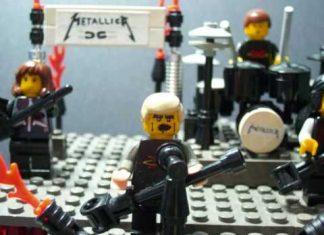 The Cult, Metallica e Queen em Lego e Playmobil - ficou legal?