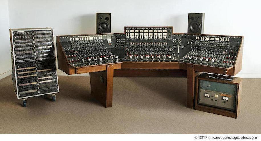 A máquina que o Pink Floyd usou para gravar