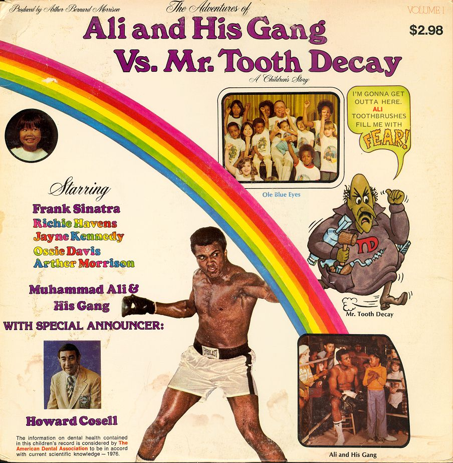 O disco anti-cáries (!) de Muhammad Ali