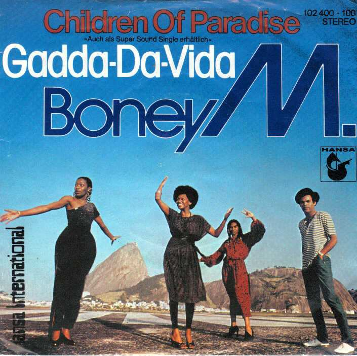 Disco music e hard rock: Boney M leva Iron Butterfly para as pistas