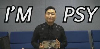 Psy ganha troféu do YouTube