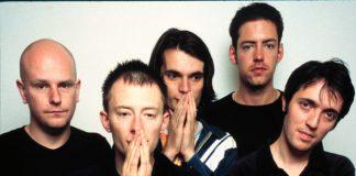 """Radiohead e """"Ok computer"""" em Glastonbury, em 1997"""