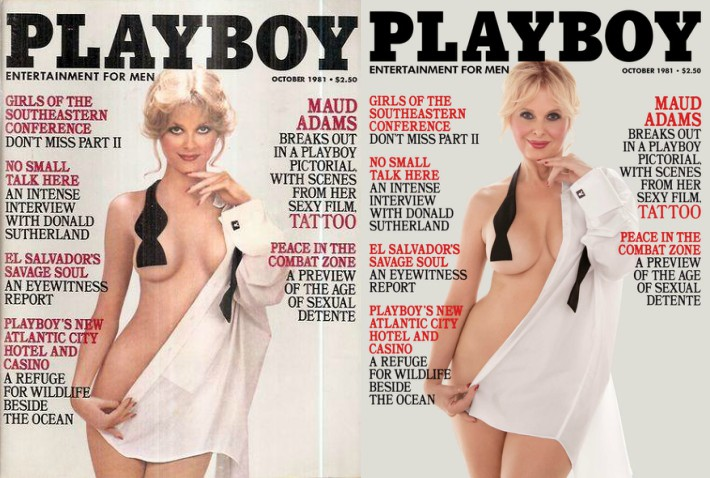 Playboy convida playmates para recriarem suas capas