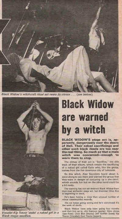 Black Widow: um show inteiro de 1970 no Beat Club