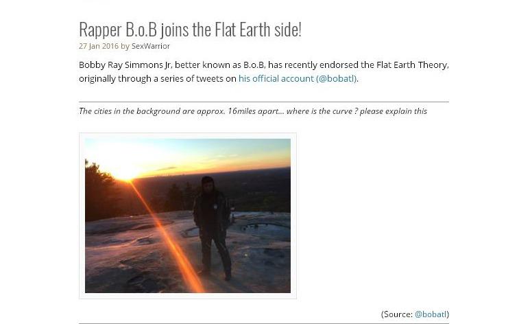"""Rapper Froid diz que """"a Terra é plana"""" - e não está sozinho nessa"""