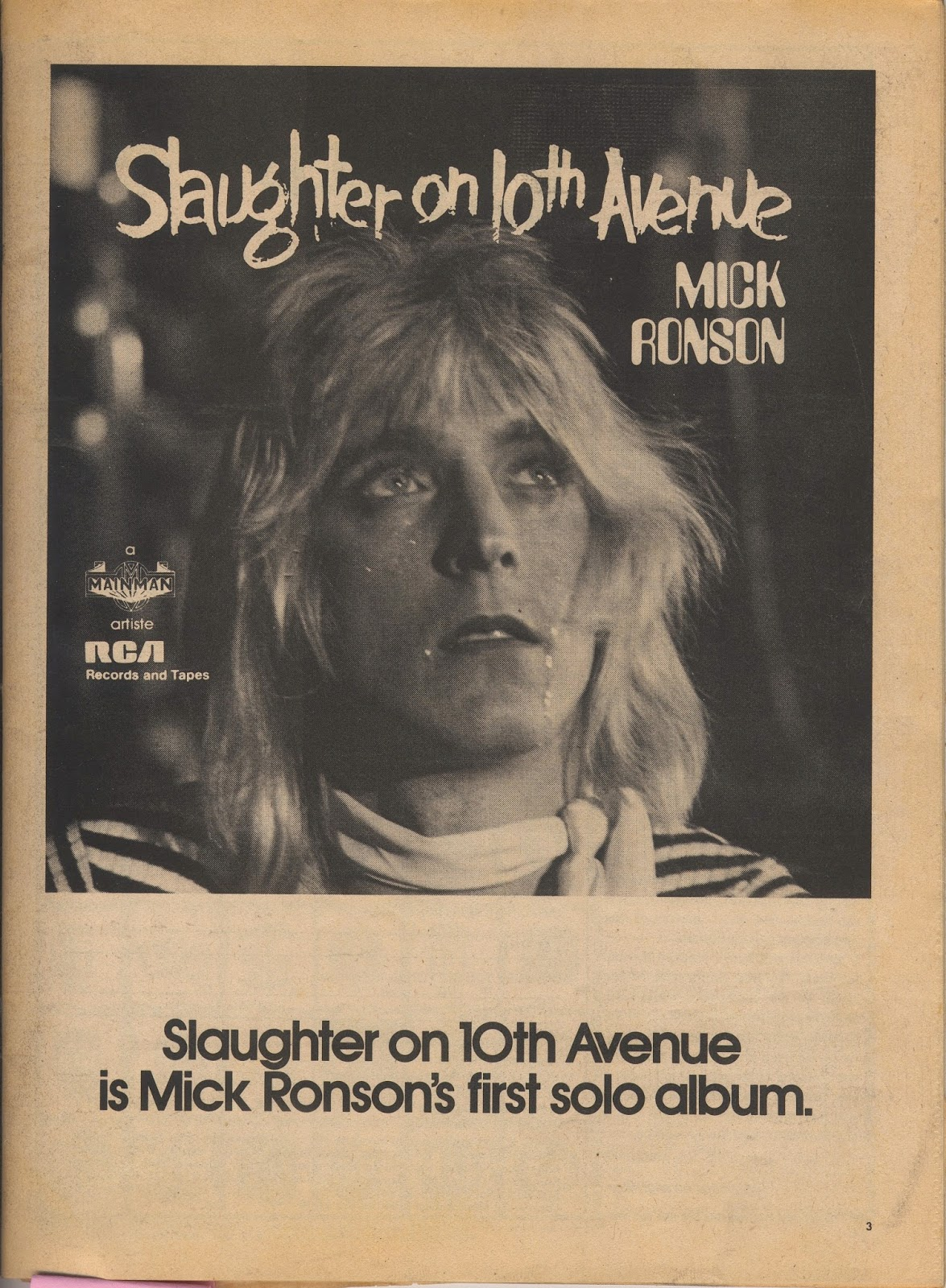"""Slaughter on 10th avenue"", o filme!"